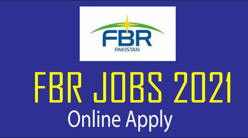 fbr jobs 2021